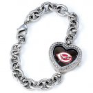 GAME TIME  CINCINNATI REDS HEART WATCH FREE SHIPPING LIFETIME WARRANTY