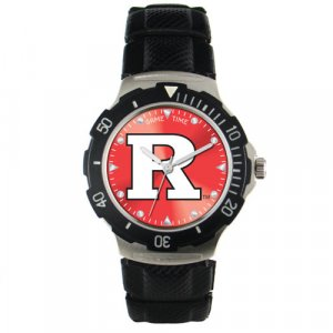 GAME TIME  RUTGERS  SCARLET KNIGHTS AGENT SERIES WATCH LIFETIME WARRANTY FREE SHIPPING