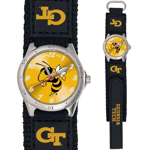 GAME TIME  GEORGIA TECH YELLOWJACKETS FUTURE STAR SERIES  WATCH LIFETIME WARRANTY FREE SHIPPING