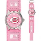 GAME TIME  CINCINNATI REDS  FUTURE STAR SERIES WATCH PINK LIFETIME WARRANTY FREE SHIPPING