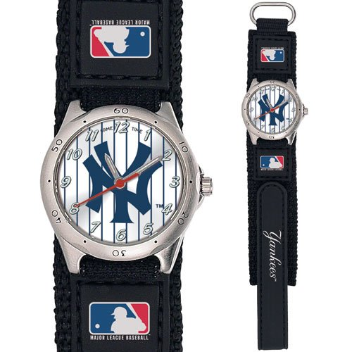 GAME TIME  NY YANKEES PINSTRIPE FUTURE STAR SERIES WATCH LIFETIME WARRANTY FREE SHIPPING