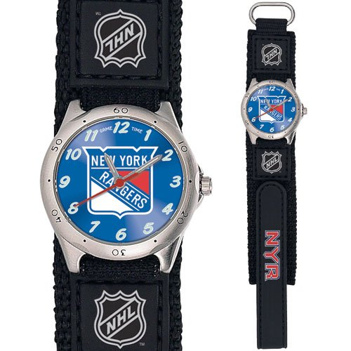 GAME TIME  NEW YORK RANGERS FUTURE STAR SERIES WATCH LIFETIME WARRANTY FREE SHIPPING