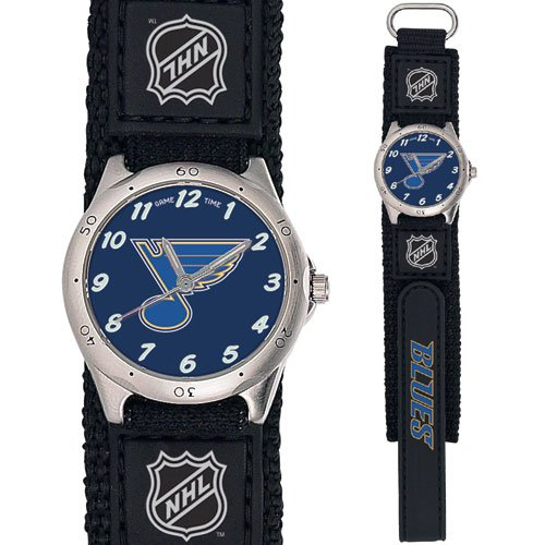 GAME TIME  ST. LOUIS BLUES FUTURE STAR SERIES WATCH LIFETIME WARRANTY FREE SHIPPING