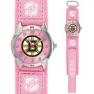 GAME TIME BOSTON BRUINS FUTURE STAR SERIES WATCH PINK FREE SHIPPING LIFETIME WARRANTY