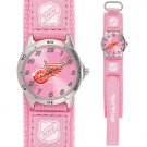 GAME TIME DETROIT REDWINGS FUTURE STAR SERIES WATCH PINK FREE SHIPPING LIFETIME WARRANTY