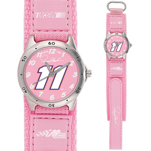 GAME TIME  DENNY HAMLIN #11 FUTURE STAR SERIES WATCH PINK LIFETIME WARRANTY FREE SHIPPING