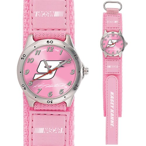 GAME TIME  KASEY KAHNE #9 FUTURE STAR SERIES WATCH PINK LIFETIME WARRANTY FREE SHIPPING