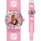 GAME TIME OTTAWA SENATORS FUTURE STAR SERIES PINK WATCH FREE SHIPPING LIFETIME WARRANTY