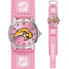GAME TIME BUFFALO SABRES FUTURE STAR SERIES PINK WATCH FREE SHIPPING LIFETIME WARRANTY