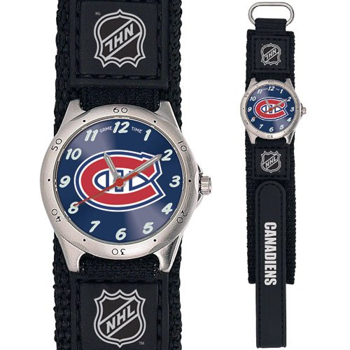 GAME TIME MONTREAL CANADIENS FUTURE STAR SERIES WATCH FREE SHIPPING LIFETIME WARRANTY