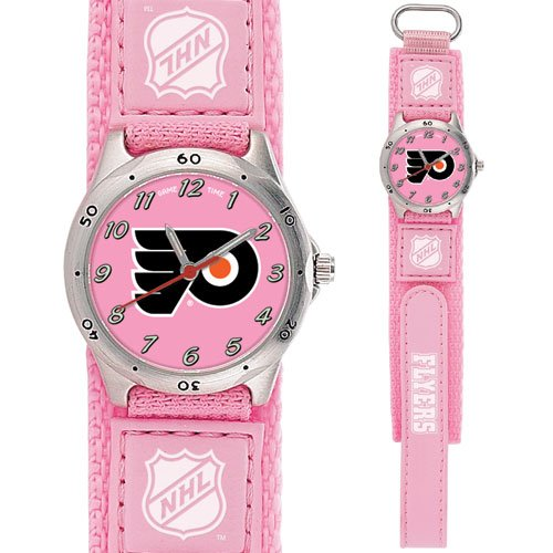 GAME TIME PHILADELPHIA FLYERS FUTURE STAR SERIES PINK WATCH FREE SHIPPING LIFETIME WARRANTY