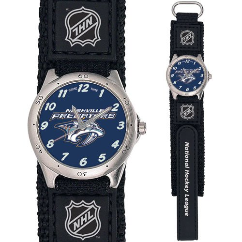 GAME TIME NASHVILLE PREDATORS FUTURE STAR SERIES WATCH FREE SHIPPING LIFETIME WARRANTY