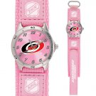 GAME TIME CAROLINA HURRICANES FUTURE STAR SERIES PINK WATCH FREE SHIPPING LIFETIME WARRANTY
