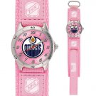 GAME TIME EDMONTON OILERS FUTURE STAR SERIES PINK WATCH FREE SHIPPING LIFETIME WARRANTY