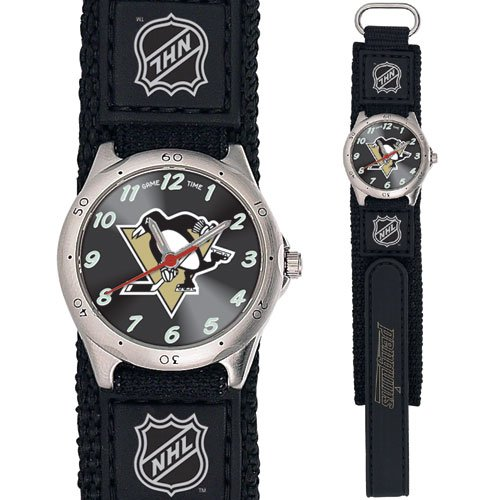 GAME TIME PITTSBURGH PENGUINS FUTURE STAR SERIES WATCH FREE SHIPPING LIFETIME WARRANTY