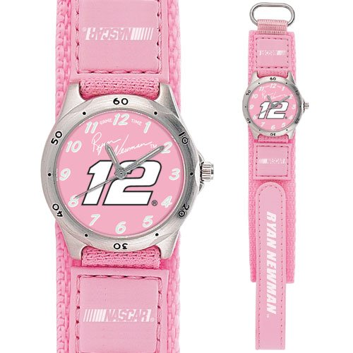 GAME TIME  RYAN NEWMAN #12 FUTURE STAR SERIES WATCH PINK LIFETIME WARRANTY FREE SHIPPING