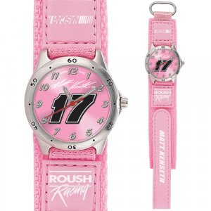 GAME TIME  #17 MATT KENSETH FUTURE STAR SERIES WATCH PINK LIFETIME WARRANTY FREE SHIPPING