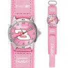 GAME TIME  #3 DALE EARNHARDT  FUTURE STAR SERIES WATCH PINK LIFETIME WARRANTY FREE SHIPPING