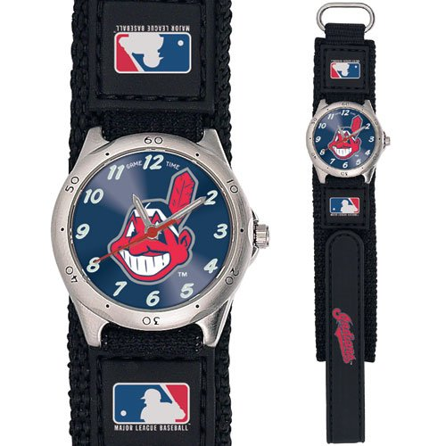 GAME TIME CLEVELAND INDIANS FUTURE STAR SERIES WATCH LIFETIME WARRANTY FREE SHIPPING