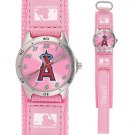 GAME TIME  LOS ANGELES ANGELS FUTURE STAR SERIES WATCH PINK LIFETIME WARRANTY FREE SHIPPING