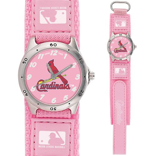 GAME TIME  ST. LOUIS CARDINALS FUTURE FUTURE STAR SERIES WATCH PINK LIFETIME WARRANTY FREE SHIPPING