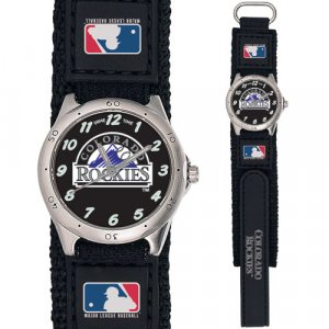 GAME TIME COLORADO ROCKIES FUTURE STAR SERIES WATCH LIFETIME WARRANTY FREE SHIPPING