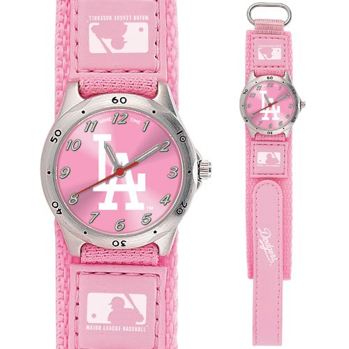 GAME TIME  LOS ANGELES DODGERS FUTURE STAR SERIES WATCH PINK LIFETIME WARRANTY FREE SHIPPING