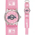 GAME TIME  MILWAUKEE BREWERS FUTURE STAR SERIES WATCH PINK LIFETIME WARRANTY FREE SHIPPING