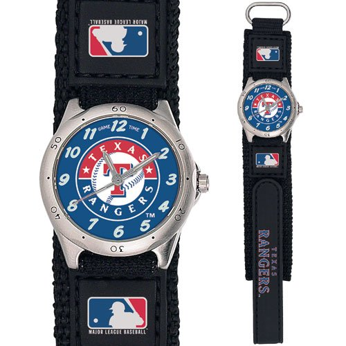 GAME TIME  TEXAS RANGERS FUTURE STAR SERIES WATCH LIFETIME WARRANTY FREE SHIPPING