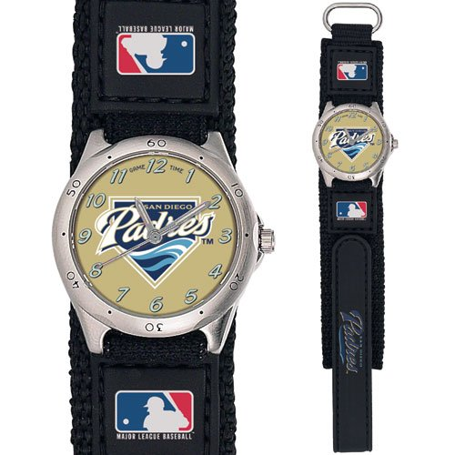 GAME TIME  SAN DIEGO PADRES FUTURE STAR SERIES WATCH LIFETIME WARRANTY FREE SHIPPING
