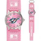 GAME TIME  TORONTO BLUE JAYS FUTURE STAR SERIES WATCH PINK LIFETIME WARRANTY FREE SHIPPING