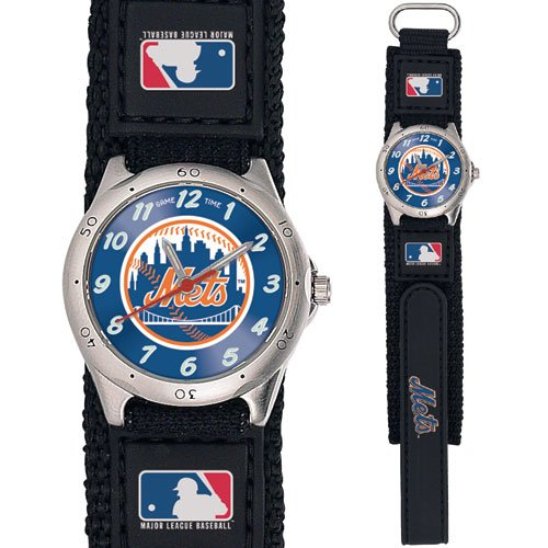 GAME TIME  NEW YORK METS FUTURE STAR SERIES WATCH LIFETIME WARRANTY FREE SHIPPING