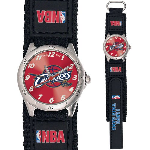 GAME TIME  CLEVELAND CAVALIERS FUTURE STAR SERIES WATCH LIFETIME WARRANTY FREE SHIPPING