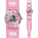 GAME TIME  DALLAS MAVERICKS FUTURE STAR SERIES WATCH PINK LIFETIME WARRANTY FREE SHIPPING