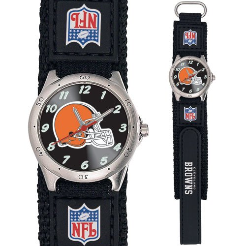 CLEVELAND BROWNS FUTURE STAR SERIES WATCH LIFETIME WARRANTY FREE SHIPPING