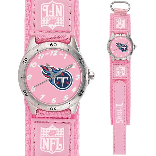 TENNESSEE TITANS FUTURE STAR SERIES PINK WATCH LIFETIME WARRANTY FREE SHIPPING