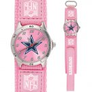 DALLAS COWBOYS FUTURE STAR SERIES PINK WATCH LIFETIME WARRANTY FREE SHIPPING