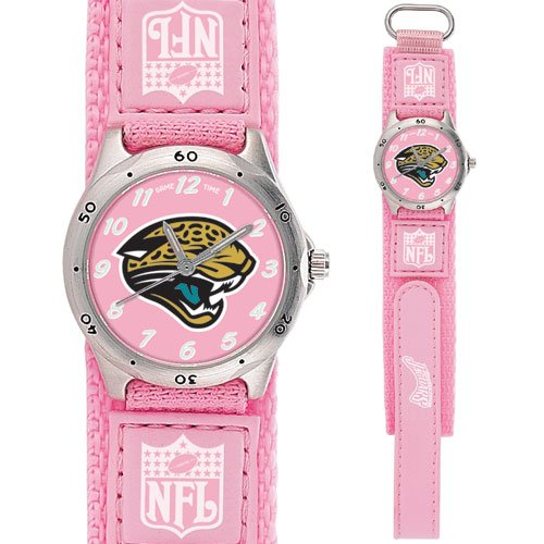 JACKSONVILLE JAGUARS FUTURE STAR SERIES PINK WATCH LIFETIME WARRANTY FREE SHIPPING