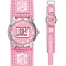 NEW YORK GIANTS FUTURE STAR SERIES PINK WATCH LIFETIME WARRANTY FREE SHIPPING