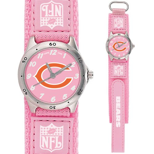 CHICAGO BEARS FUTURE STAR SERIES PINK WATCH LIFETIME WARRANTY FREE SHIPPING