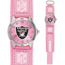 OAKLAND RAIDERS FUTURE STAR SERIES PINK WATCH LIFETIME WARRANTY FREE SHIPPING