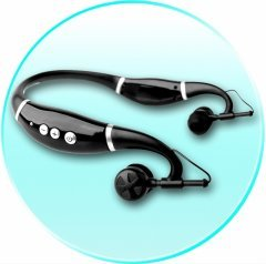 Bendable Bluetooth Stereo Headset - 8 Device Pairing