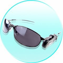 Bluetooth Earpiece Headset Clip-On For Sunglasses Or Glasses