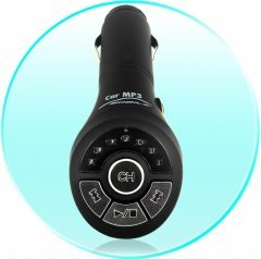 Car MP3 FM Transmitter with Built-in 1GB Flash