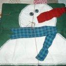 Snow Man Blankets