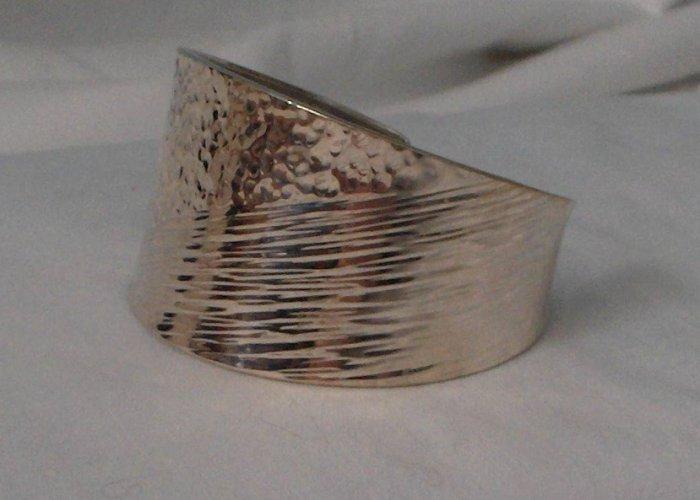 Handcrafted .950 Sterling Silver Bracelet