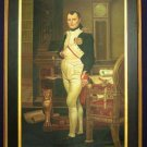 "Jacques Louis David – ""Napoleon in his Studio."