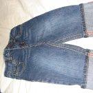 Wonderkids designer look cuffed jeans 12-18months