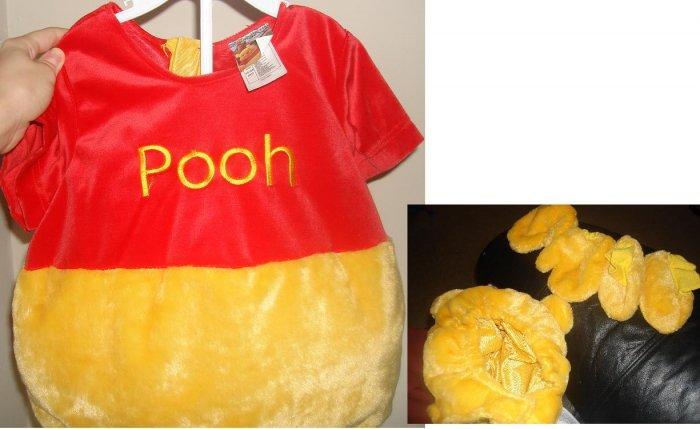 Disney's winnie the pooh bunting costume 18-24mo unisex