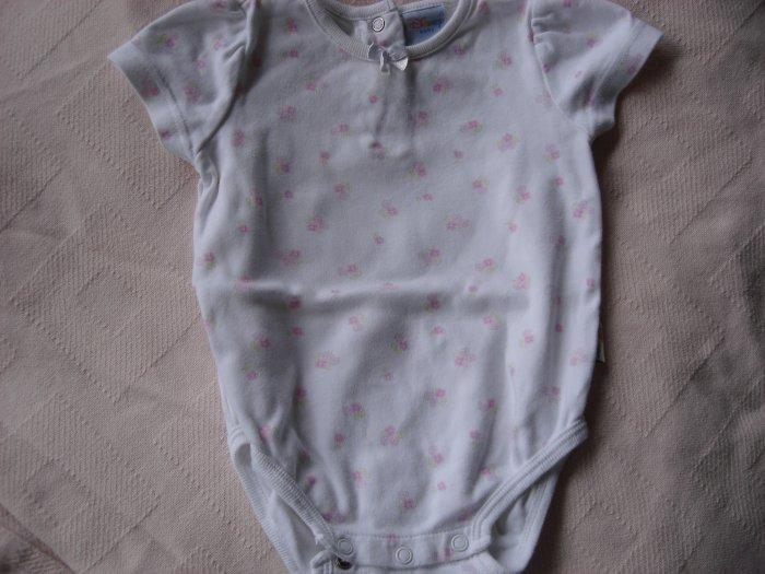 Pink flowered girl's onesie 9-12 months by Disney Baby